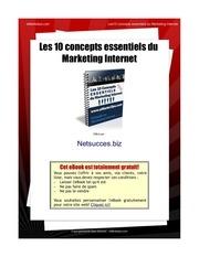 10 concepts marketing internet
