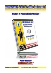 brochure presentation almanach 1