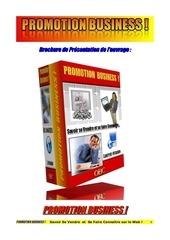 brochure promotion business 1