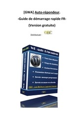 guide demarrage autorepondeur wp
