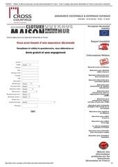 Fichier PDF obtenir un devis pour une assurance decennale en france