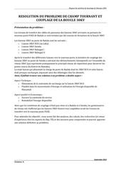 rapport se synthese de bouclage du reseau 30kv