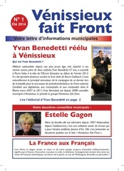 gazette vff no 1 ete 2014 4 pages