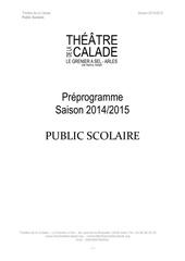 Fichier PDF saison 2014 2015 public scolaire