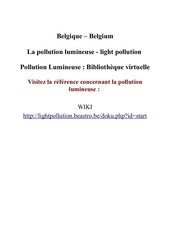 Fichier PDF la pollution lumineuse light pollution