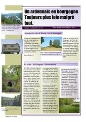 un ardennais en bourgogne journal mensuel juin 2014