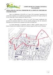 compte rendu du conseil municipal du 16 mai 2014