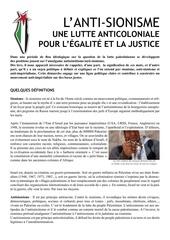 Fichier PDF declaration sur l antisionisme