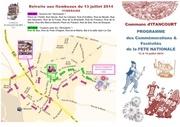 programme 14 juillet 2014