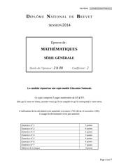 brevet math 2014