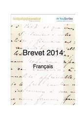 Fichier PDF corrige brevet 2014 francais complet