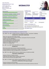 cv julie anselme webmaster compressed