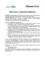 Fichier PDF cyberlibris bibliovox carel offre 2014 1