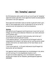 Fichier PDF sampling nl
