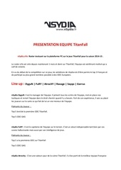 Fichier PDF dossier quipe titanfall