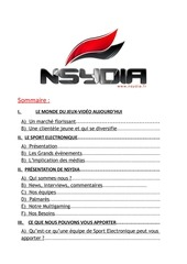 dossier sponsoring nsydia 2014