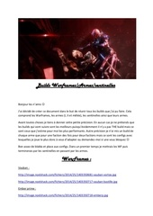 Fichier PDF builds warframe
