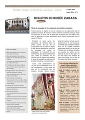 bulletin du musee zabana n 2