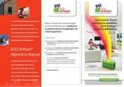 depliant client eco artisan rge