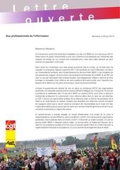 20140630 lettre ouverte aux professionnels de l information