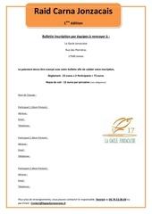Fichier PDF bulletin inscription par equipes a renvoyer a