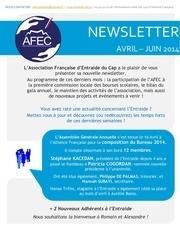 entraide newsletter avril juin 2014