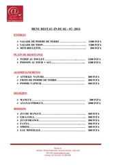 Fichier PDF menu restau in 02 07 2014