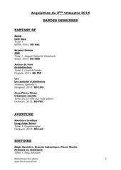 Fichier PDF aquisitions bd 2eme trimestre 2014