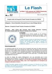 Fichier PDF flash n 92 groupe de travail traction formation du 20140527