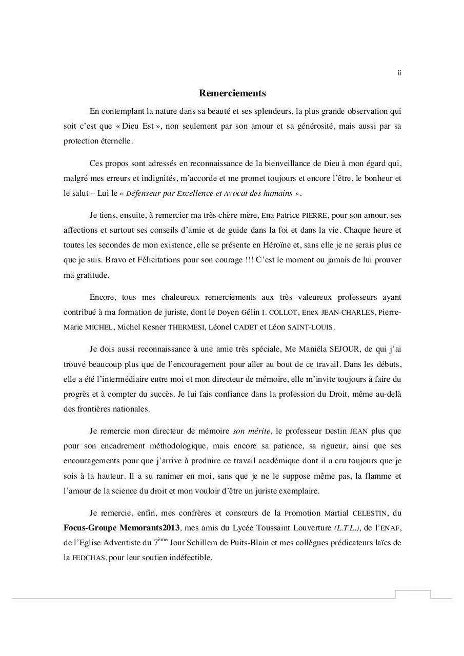 e7d69982be8 Memoire de Licence en Droit de Esaie PIERRE. version corrigee ...