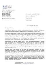 lettre ministre interieur