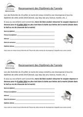 recensement diplomes