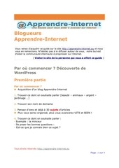 Fichier PDF debuteravecwordpress