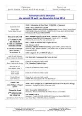 Fichier PDF 2014 04 27 annonces de la semaine