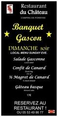 affich banquet gascon
