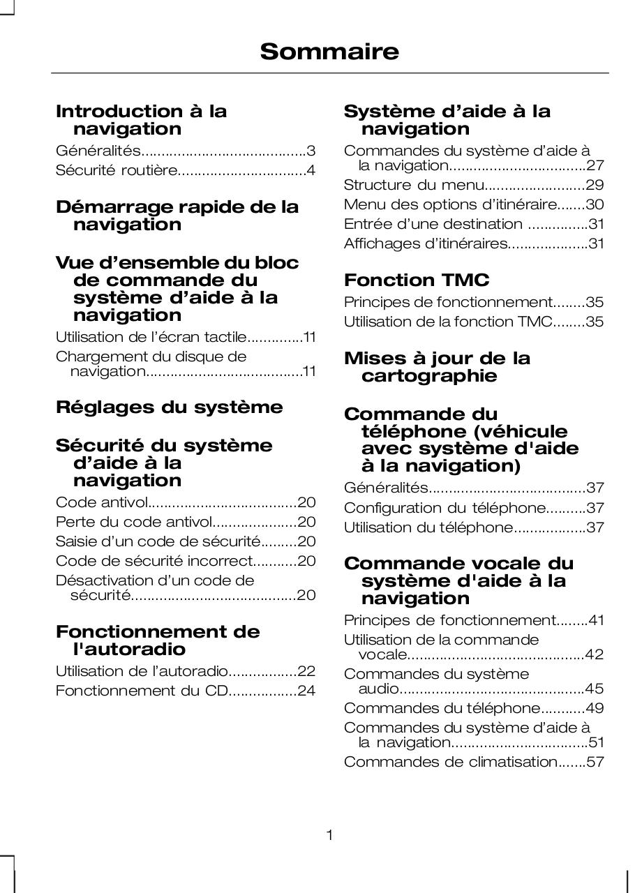 Manuel_Ford_Touchscreen-GPS-FR,0.pdf - page 3/70