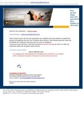 information du service paypal 9