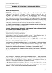 reglement du jeu concours quechua phone contest