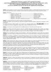 reglement exposition 2014