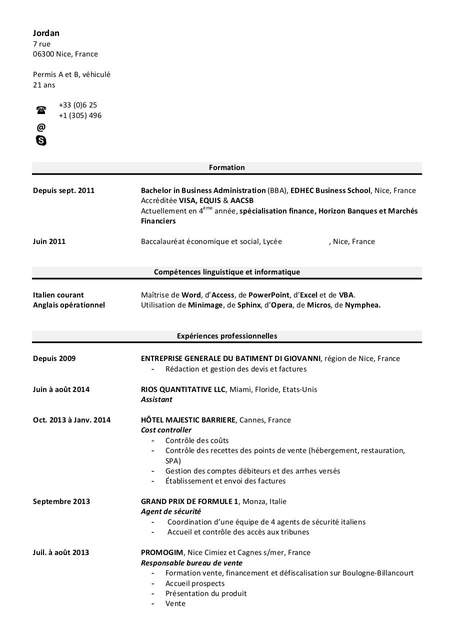 cv vide docx - cv vide pdf