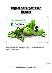 Fichier PDF e book neobux