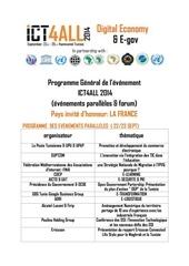 programme general de ict4all