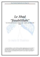 les versets du coran sur le jihad avec le tafssir de ibn k