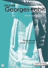 programme george labit jan aout 2014