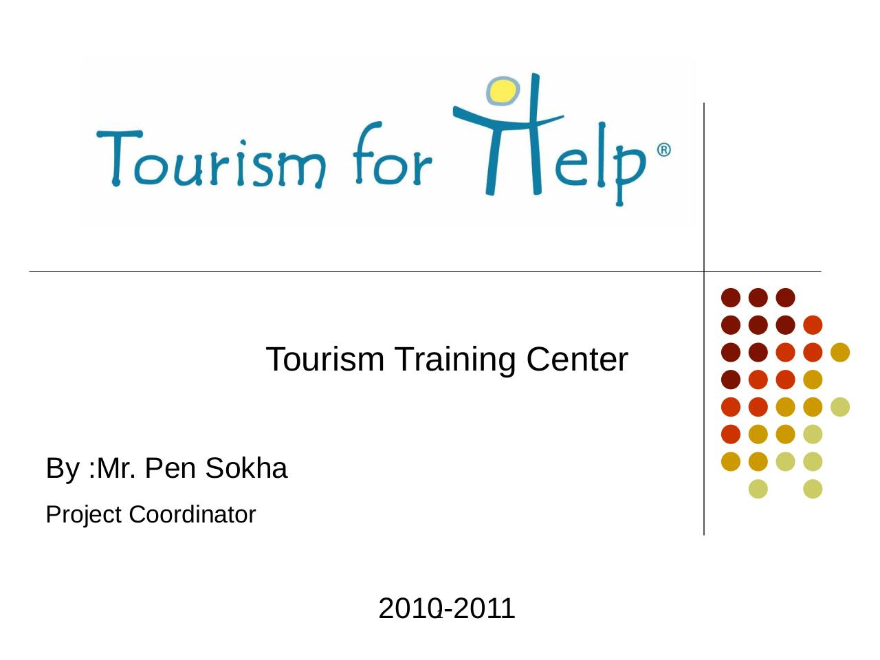 Presentation from Tourism for Help-Cambodge.pdf - page 1/16