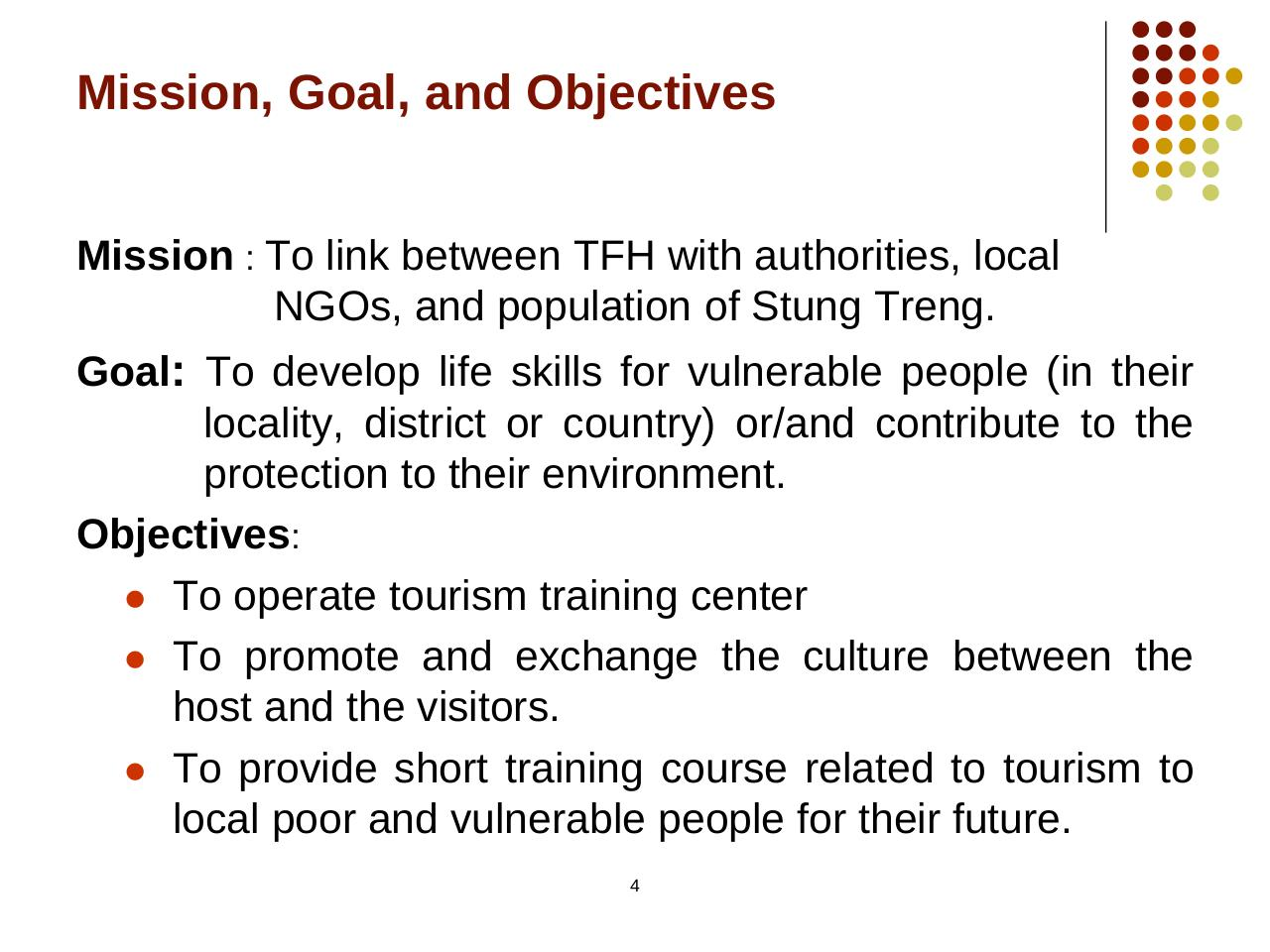 Presentation from Tourism for Help-Cambodge.pdf - page 3/16