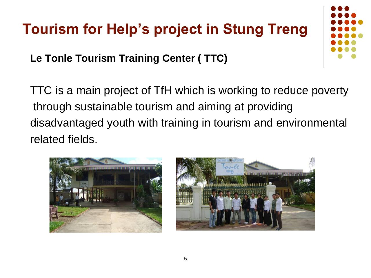 Presentation from Tourism for Help-Cambodge.pdf - page 4/16