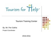 presentation from tourism for help cambodge