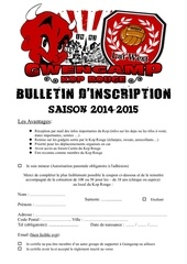 bulletin d adhesion 2014 15