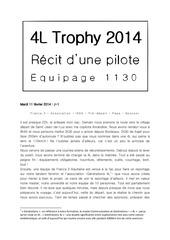 Fichier PDF carnet de route 4l trophy 2014 1